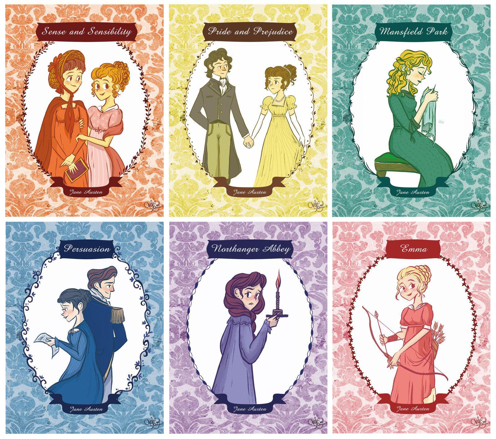 Resultado de imagen de jane austen characters