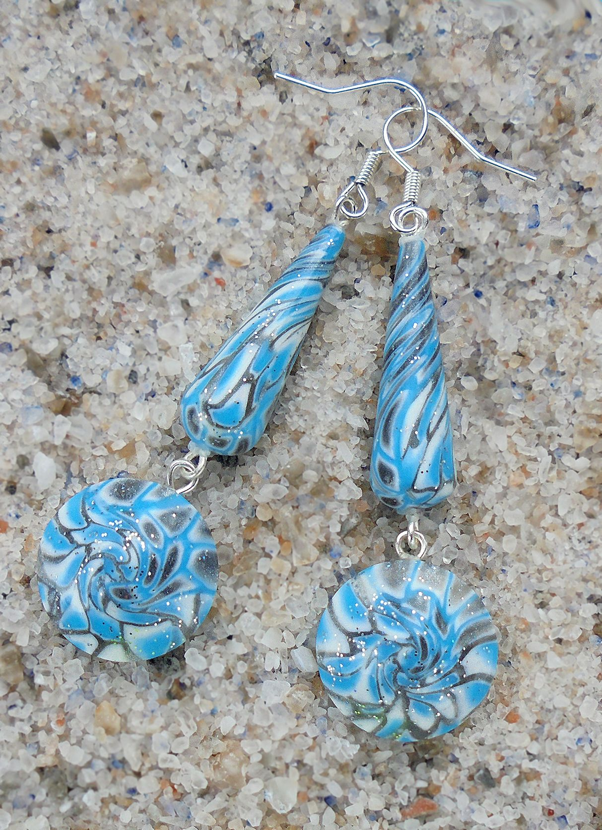 how to make polymer clay earrings stronger