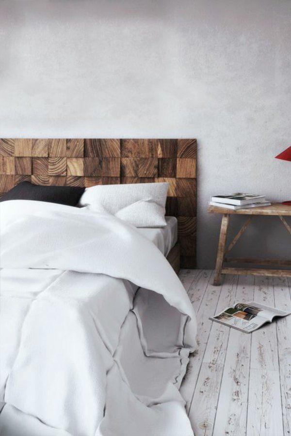 30 Ideen für Bett Kopfteil - märchenhafte und kunstvolle Beispiele - klassische bett designs schlafzimmer