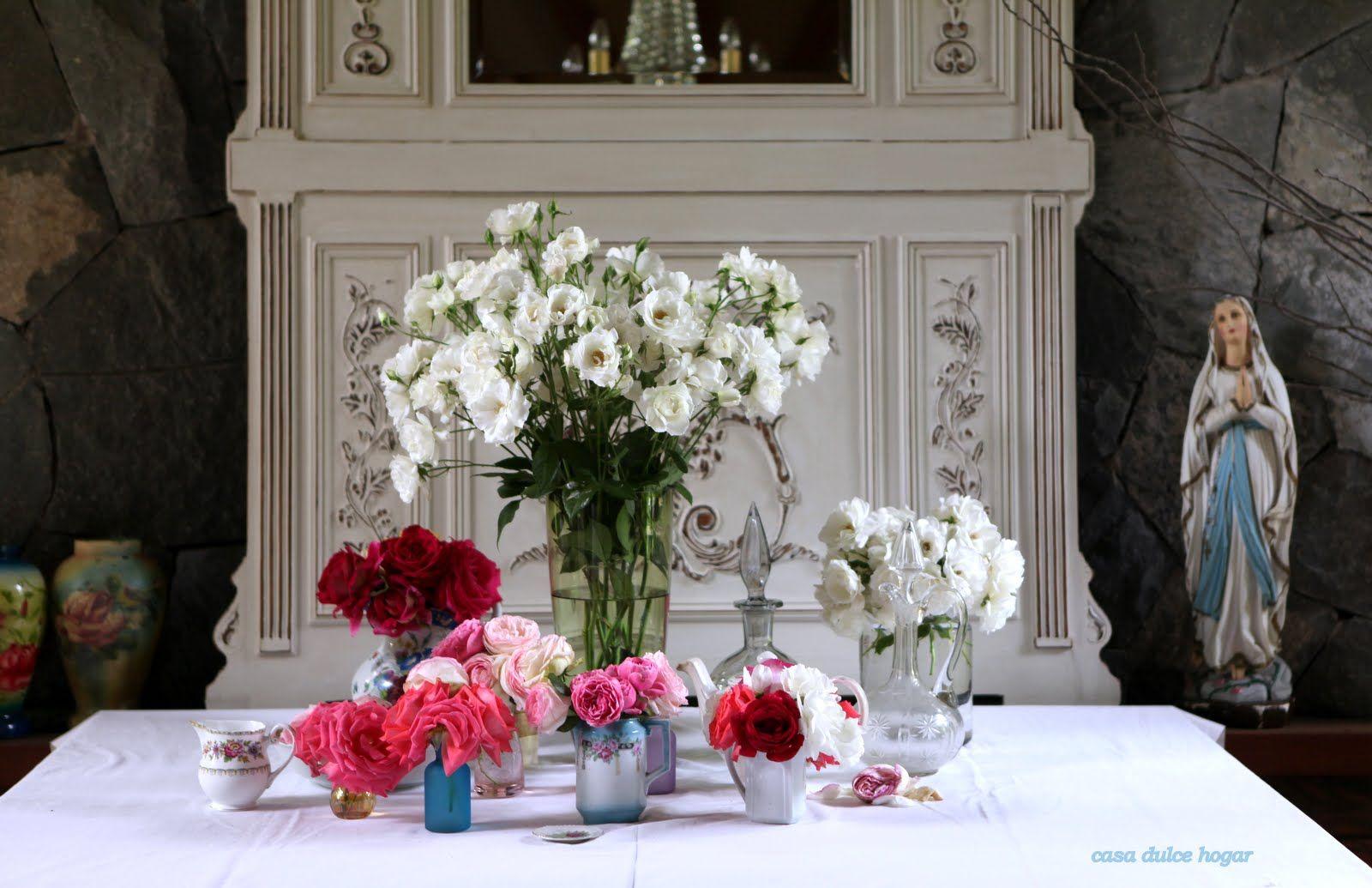 casa dulce hogar: Rosas de mi jardín