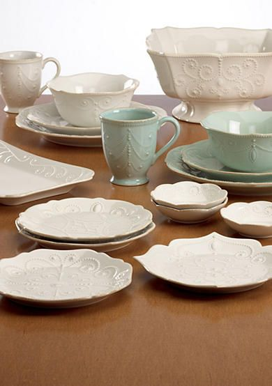 Beautiful Lenox® French Perle White Dinnerware and Accessories. Mix and match with the ice & Beautiful Lenox® French Perle White Dinnerware and Accessories ...