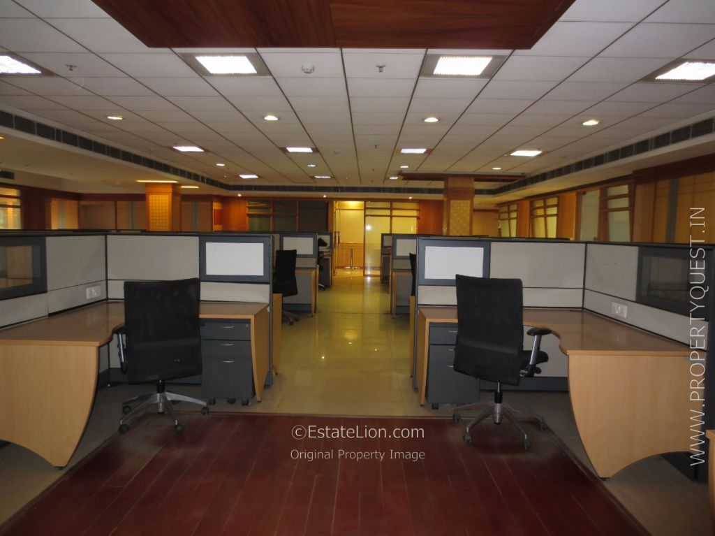 SqFt High Class Furnished Office For Rent  Lease In