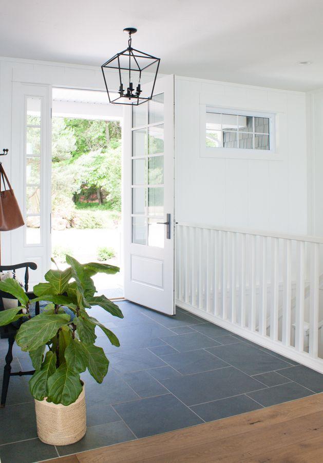 Blue Slate Entry Way Tile The Lilypad Cottage Entryway Tile Entry Tile Entryway Flooring
