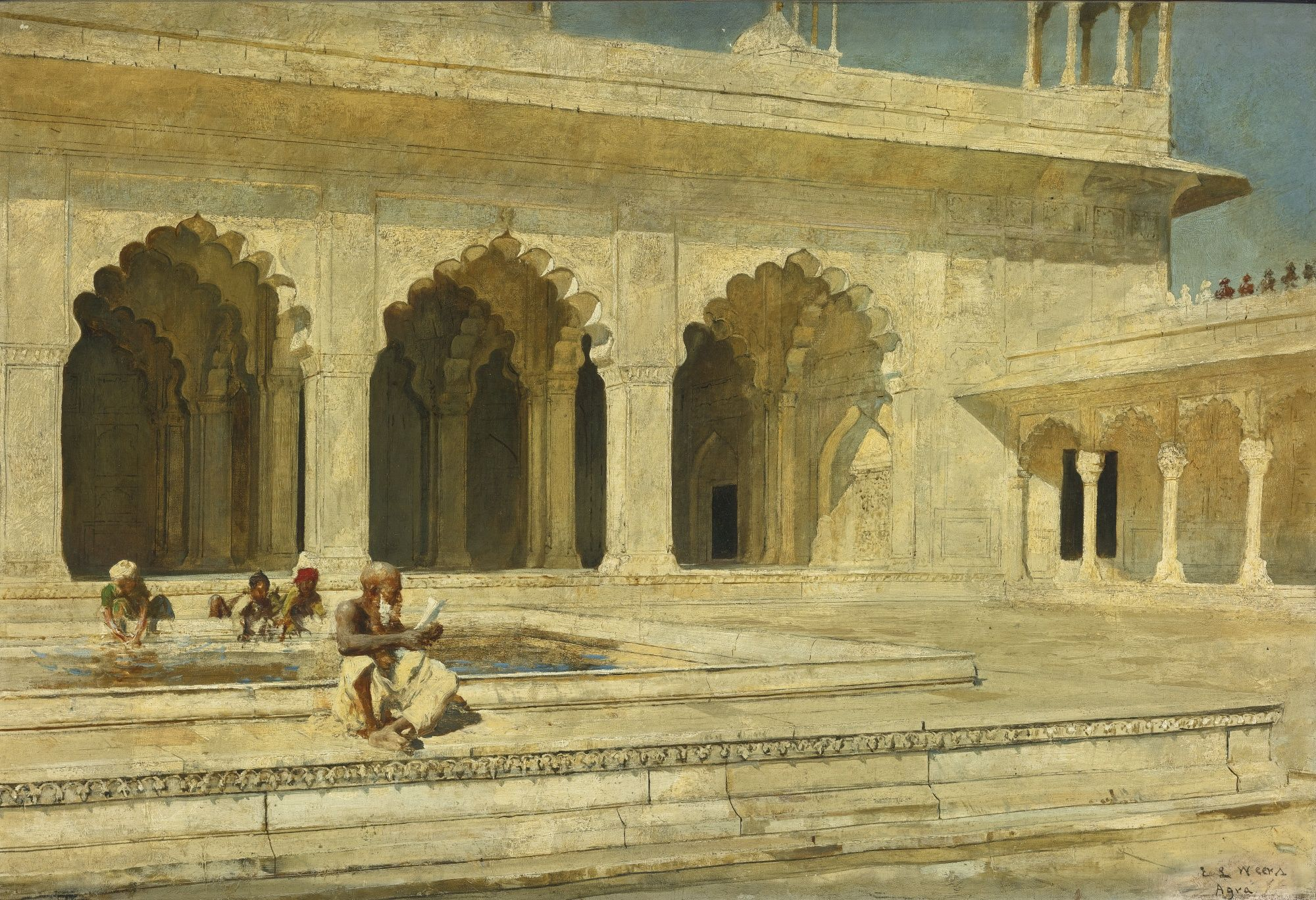 Edwin Lord Weeks | Lot | Sotheby's | European art, Library photo shoot, Indian history