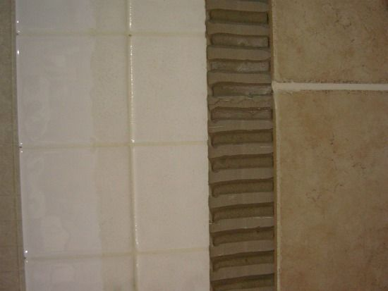 How To Install Tile Over Existing Tile Interiors Kitchens And House