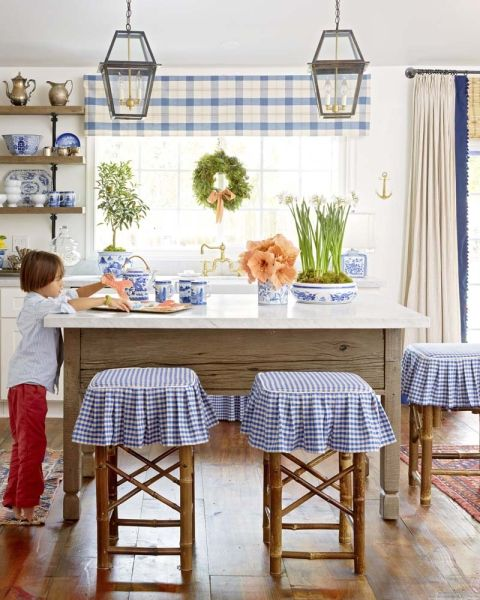 20 Charming Cottage Style Kitchen Decors: Photographed By David Tsay. Published In Better Homes