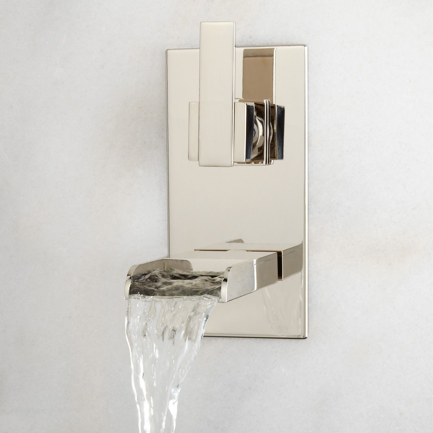 Willis Wall-Mount Bathroom Waterfall Faucet | Broadway/Riverdale ...