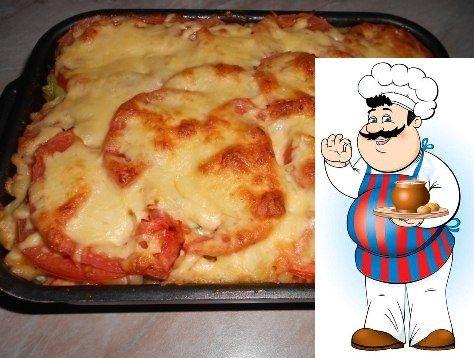 Готовим пикантные макароны в духовке.