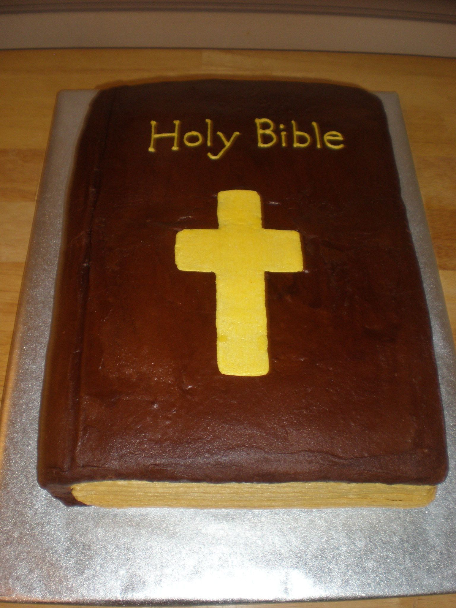 Cake Design For Pastors : Bible cake - Made for Pastor Appreciation Day at church ...