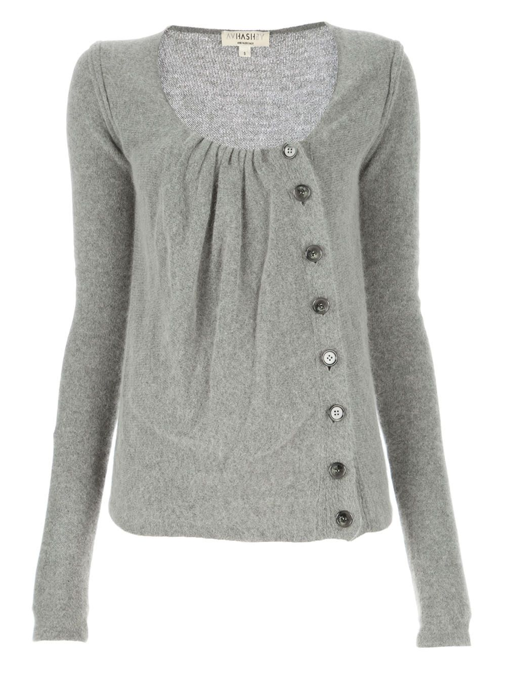 Precious asymmetrical button cardigan! This is just perfect! Cute ...