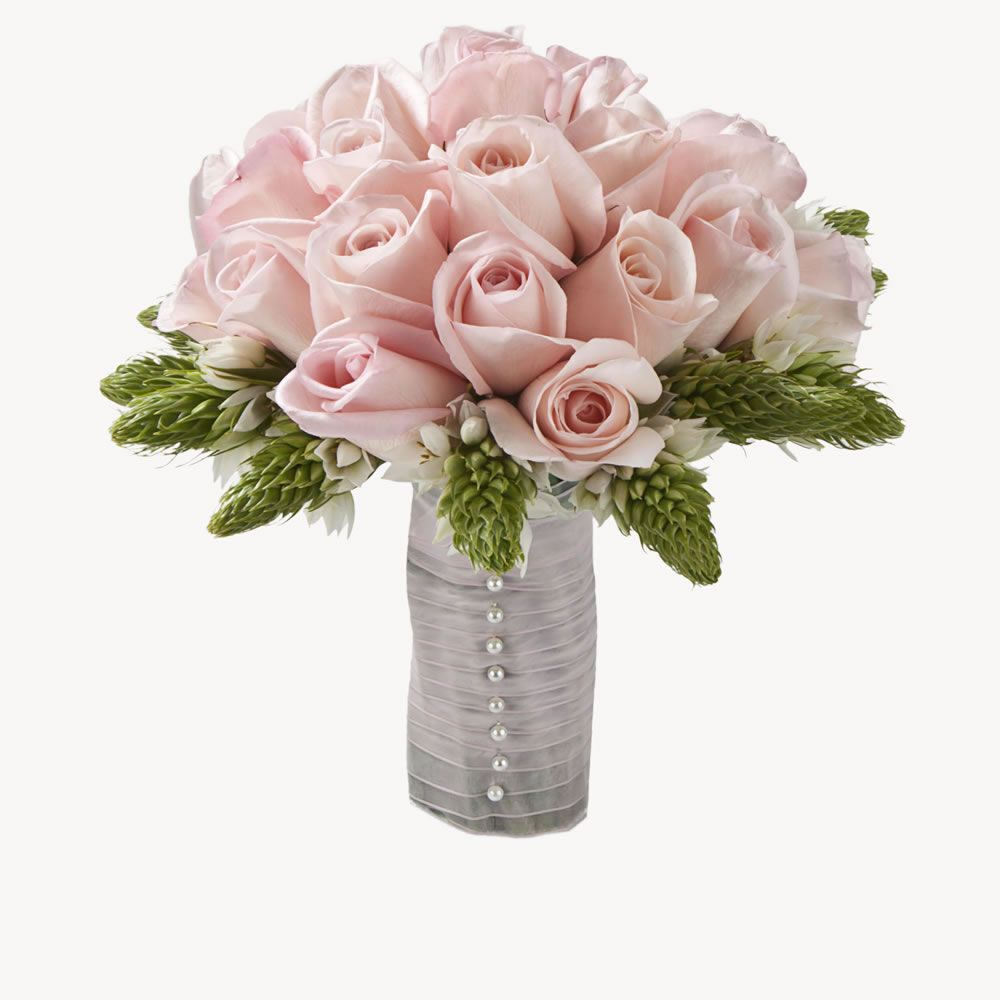 Rose / Star of Bethlehem - Light Pink - Grand 36piece Collection - Wedding Flowers - Bridesign.com