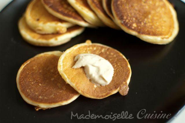 Blinis faciles - Recette de Cuisine ~ Mademoiselle Cuisine : recettes, astuces, actu cuisine