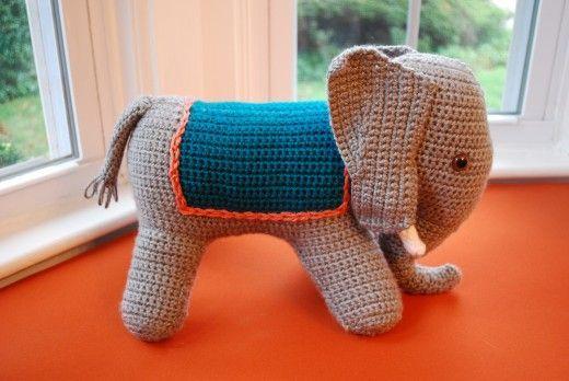 Crochet Elephant Blanket Pattern Free Free Crochet Pattern Ba ... | 348x520
