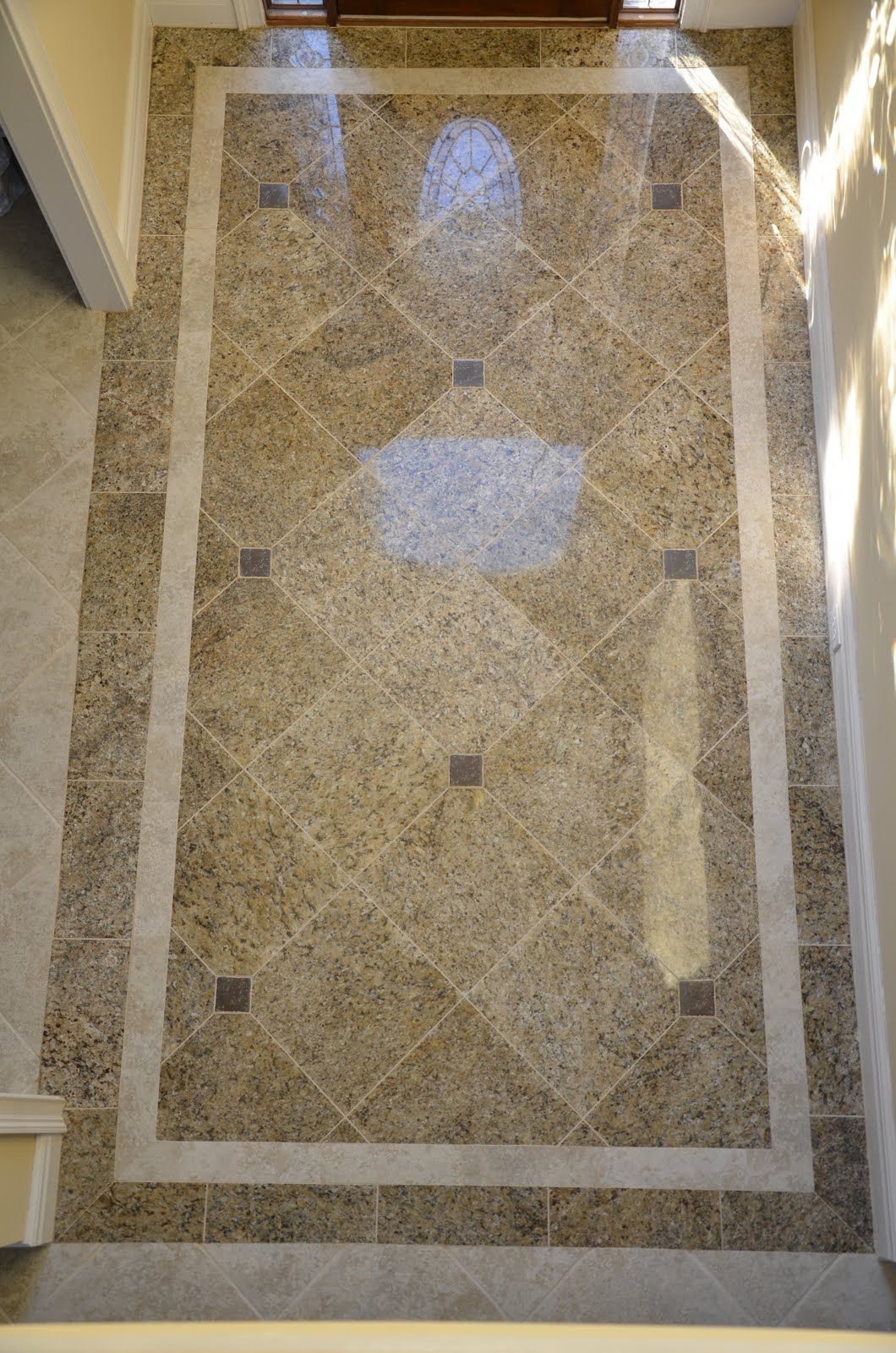 Foyer floor tile design ideas small entryway tile floor for Entrance flooring ideas