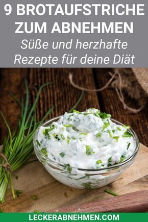 Kalorienarme Brotaufstriche - 9 leckere Aufstriche zum Abnehmen #frischkäseselbermachen