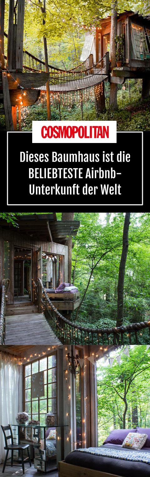 baumhaus das ist die weltweit beliebteste airbnb unterkunft gartenparty pinterest reisen. Black Bedroom Furniture Sets. Home Design Ideas