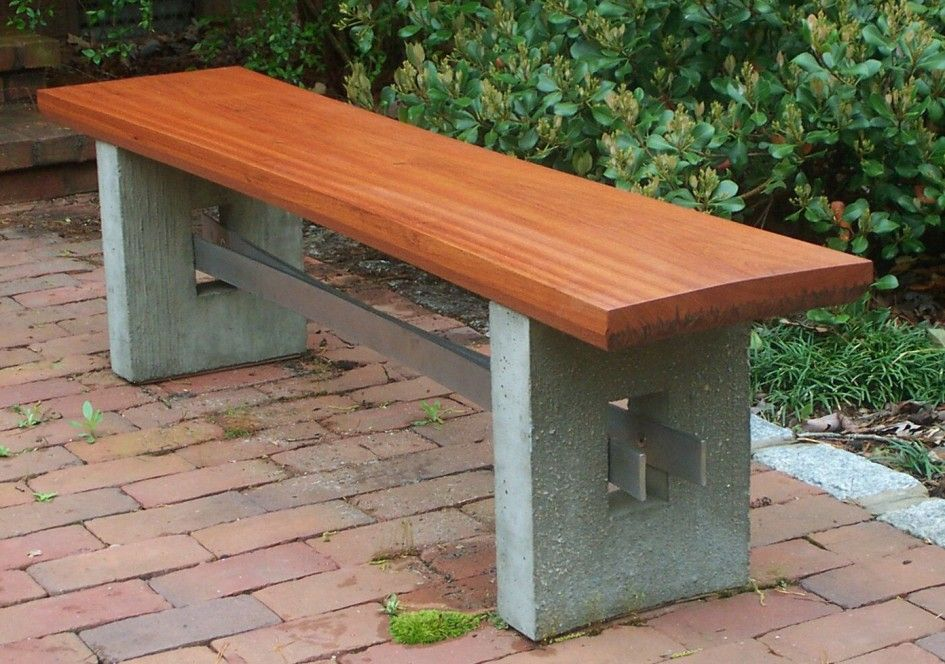 Furniture Amp Accessories Modern Ideas Of Wood Bench Design Wooden Stone Garden Bench Wooden Garden Benches Outdoor Bench Seating
