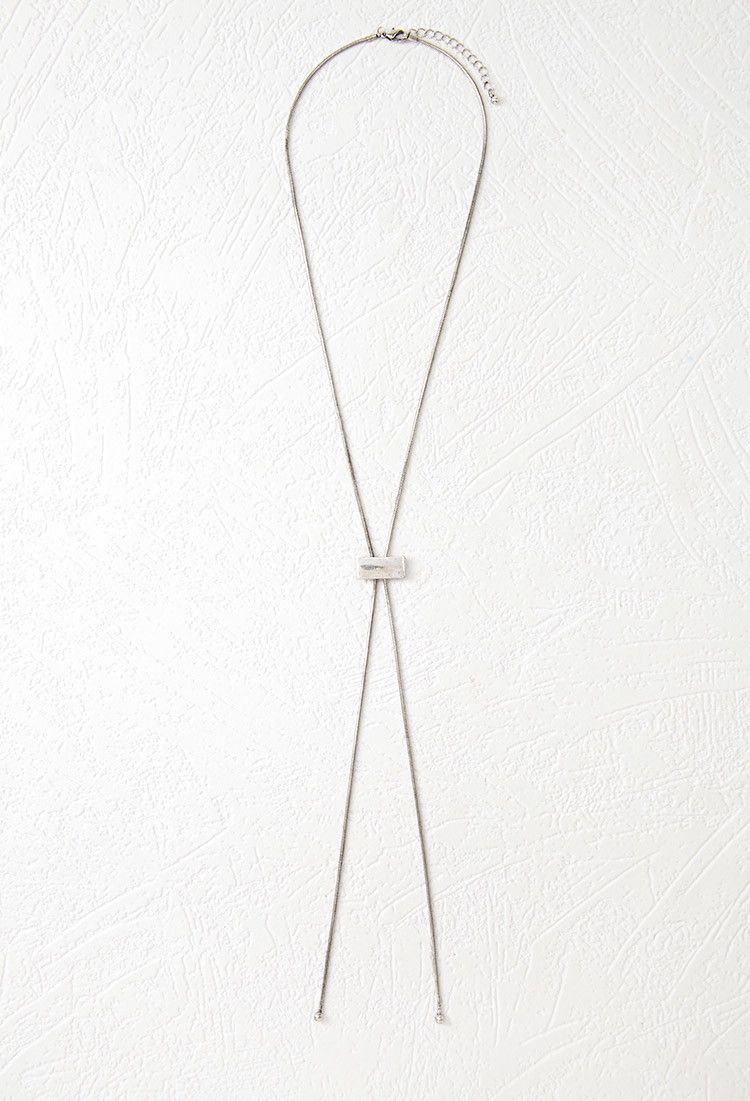 Bar Charm Bolo Necklace | Forever 21 - 1000077062