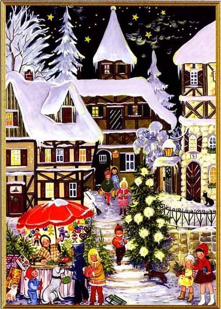 Christmas card from Germany http://www.pinterest.com/bringinghome/store-windows/