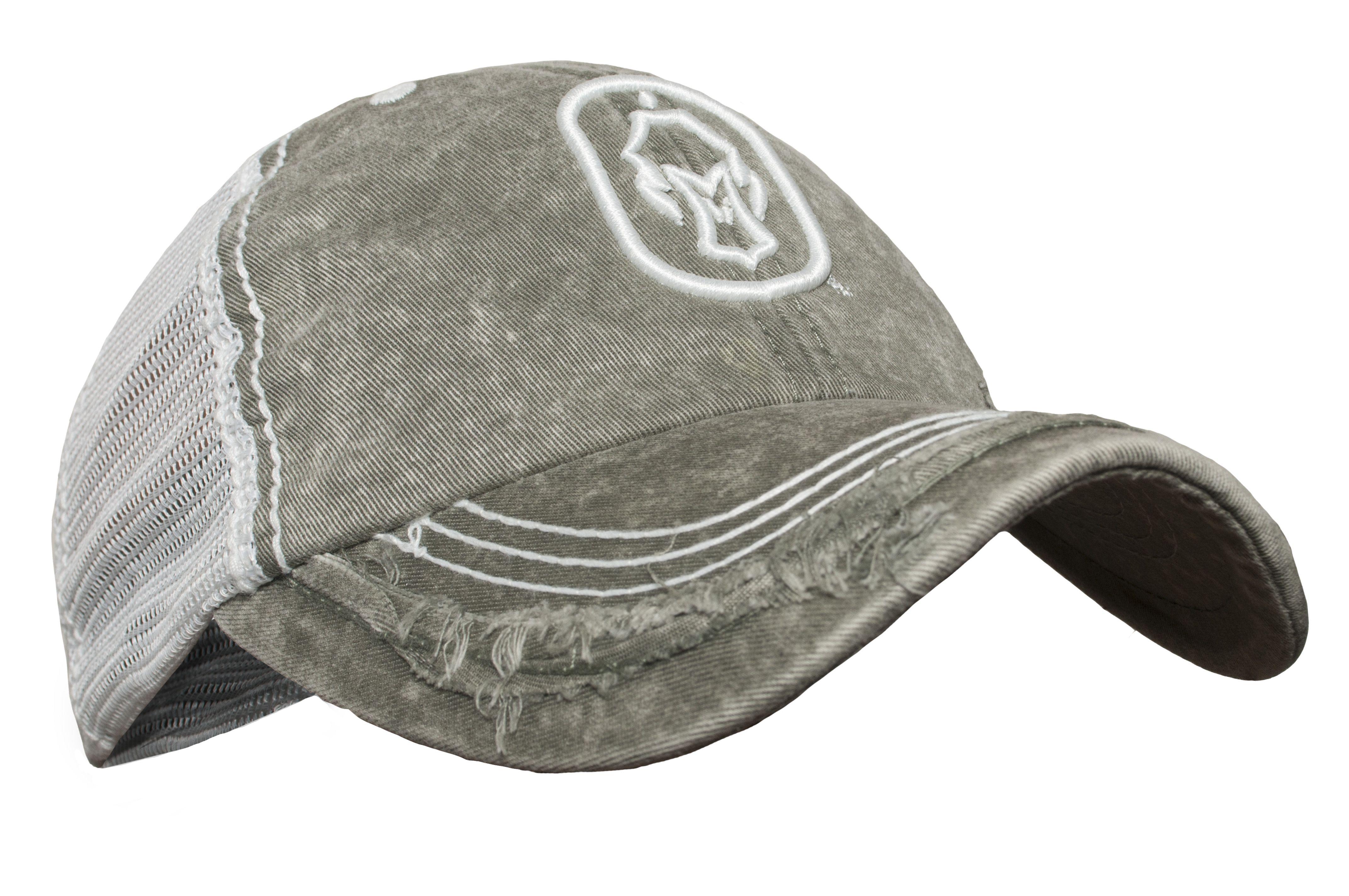Hard Core - Distressed Dog Tag Hat Olive Mesh Strap Back  HardCore   HardCoreClothing  Lifestyle  Hat  WaterfowlHunting 63c01171149