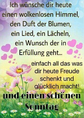 Pin Von Heinrich Thoben Auf Guten Tag Schönen Sonntag