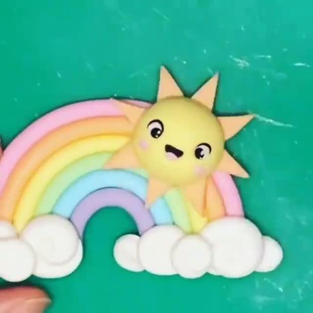 Photo of Rainbow Topper Tutorial