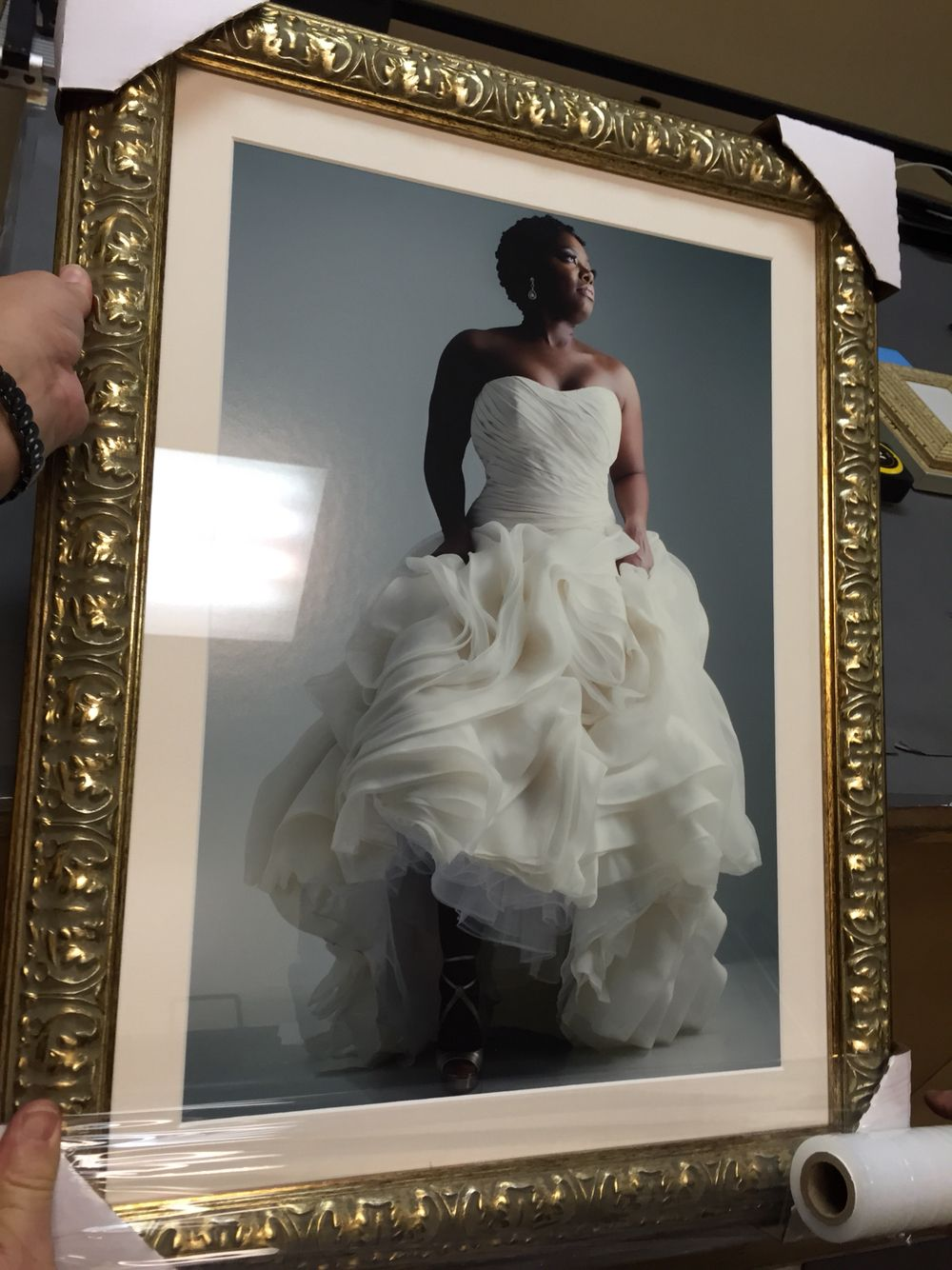 Personalized Wedding Photo Printed Picture Frame Wedding Photo Collage Vertical Wedding Photo Collage Wedding Picture Frames Framed Wedding Photos