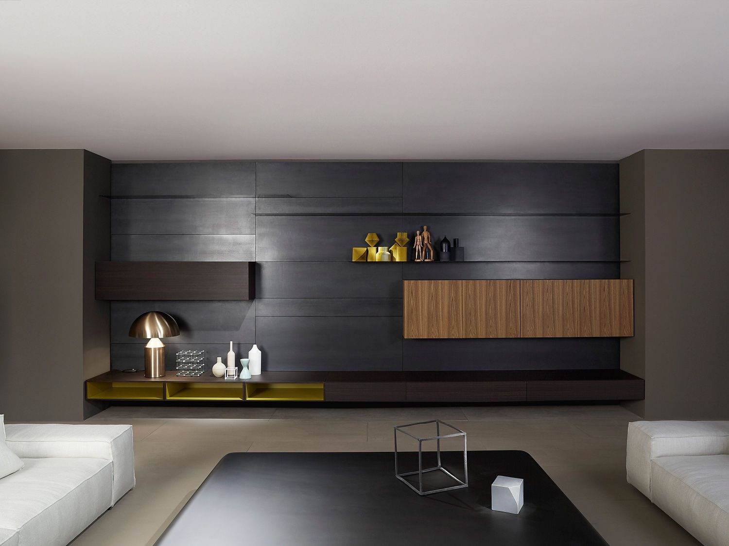 MODERN LIVING   Designer Wall Storage Systems From PORRO ✓ All Information  ✓ High Resolution Images ✓ CADs ✓ Catalogues ✓ Contact Information.