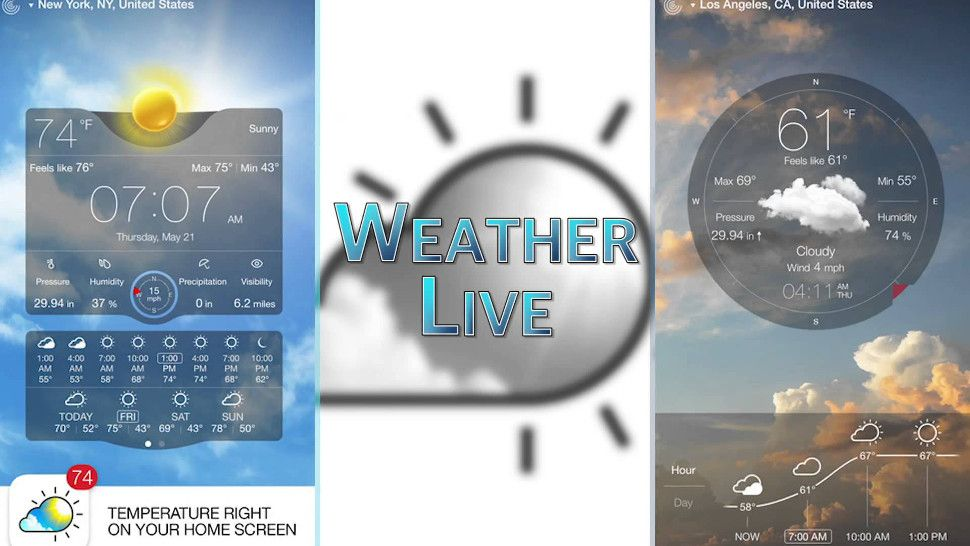 8 most reliable weather apps Weather, App, Smartphone