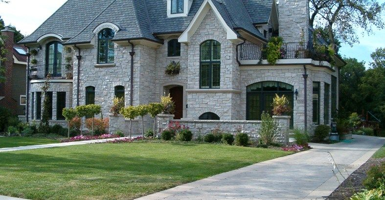 Concrete Designs- English Tudor Home Styles and Ideas Using ...