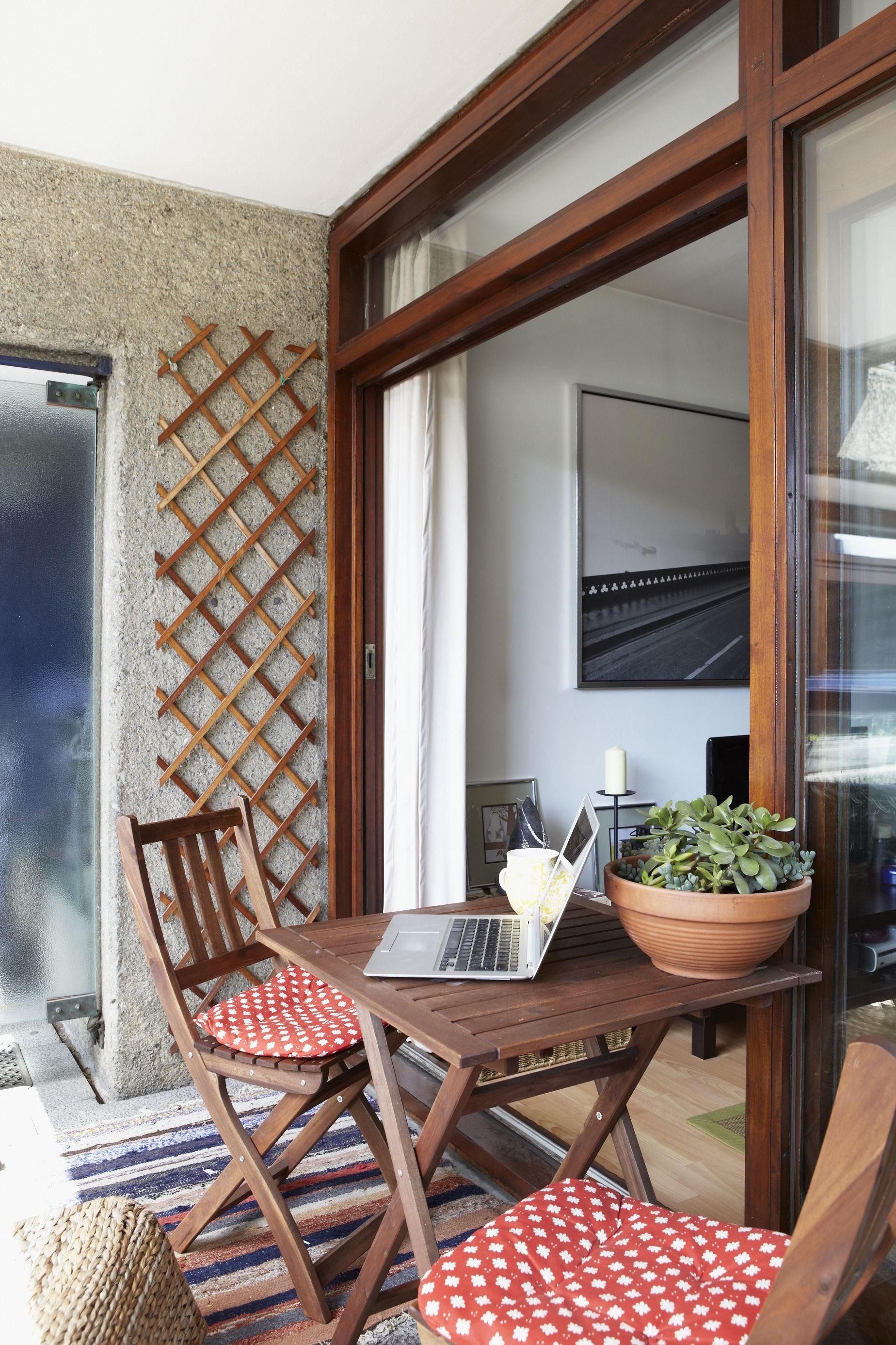 Balcony Design London: Helena Del Rio's London Flat Tour