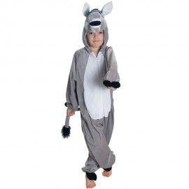 Donkey Kids Fancy Dress Animal Boys Girls Book Day Nativity Christmas Costume