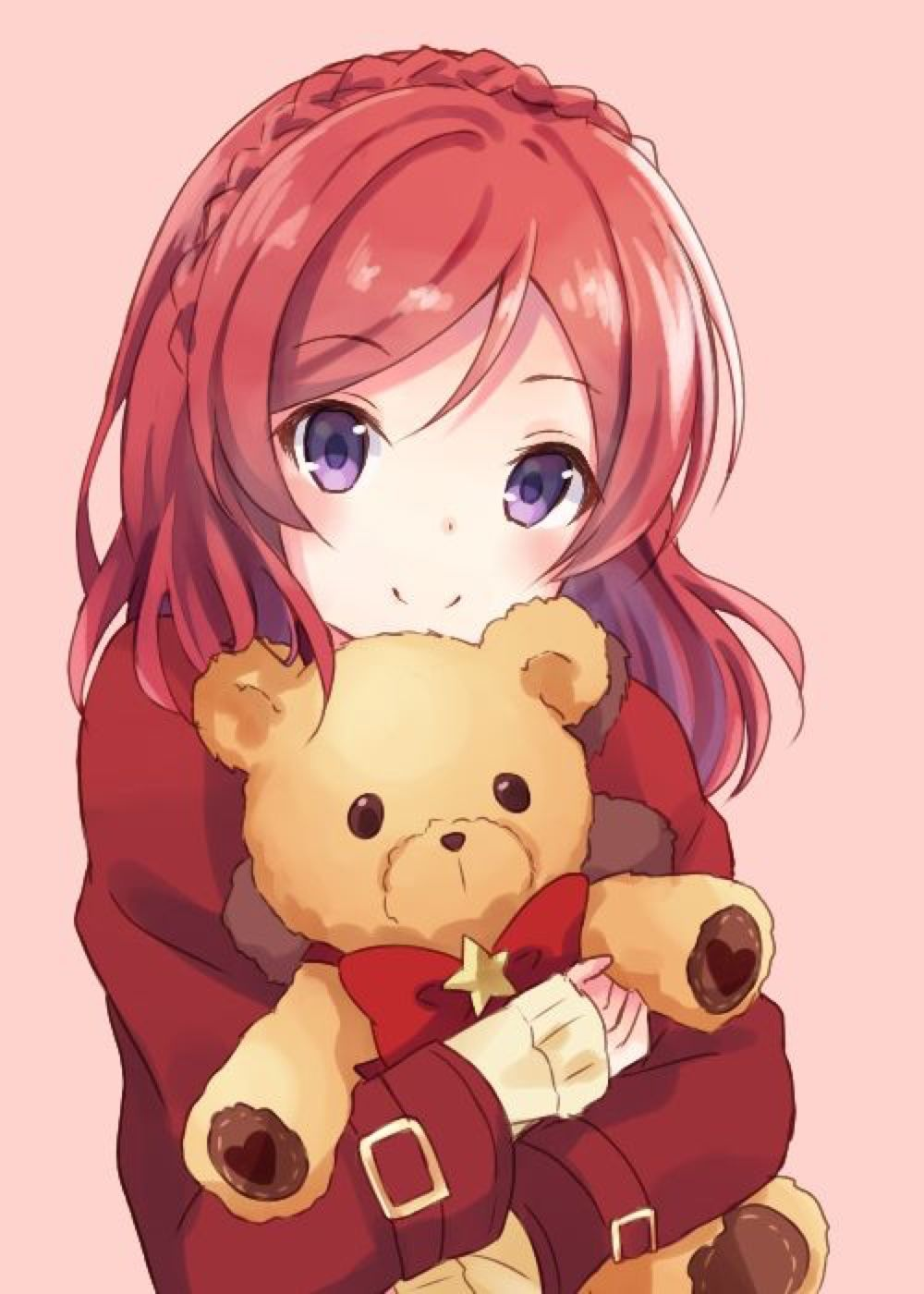 Anime Girl With Red Hair Tumblr Www Imgkid Com The