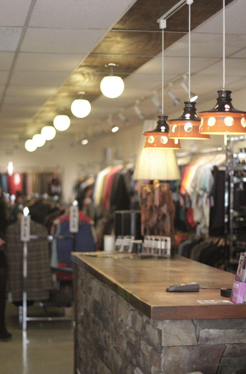 Cool Lamps In Vintage Shop Queen Street West Toronto