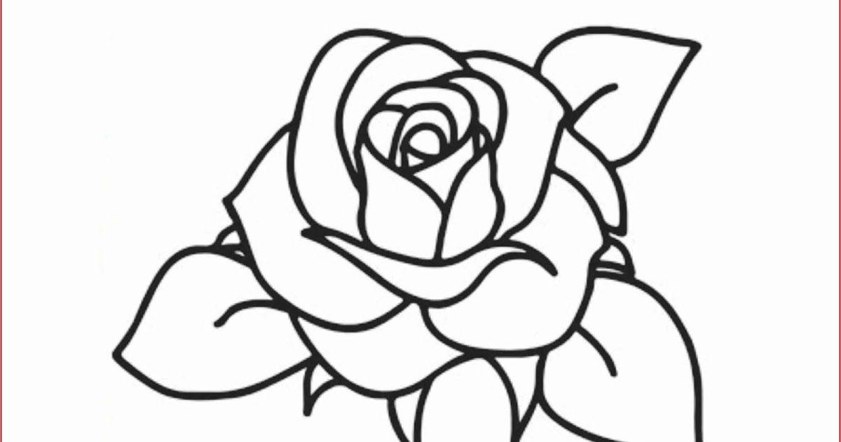 31 Gambar Bunga Yang Mudah Diwarnai Di 2020 Dengan Gambar
