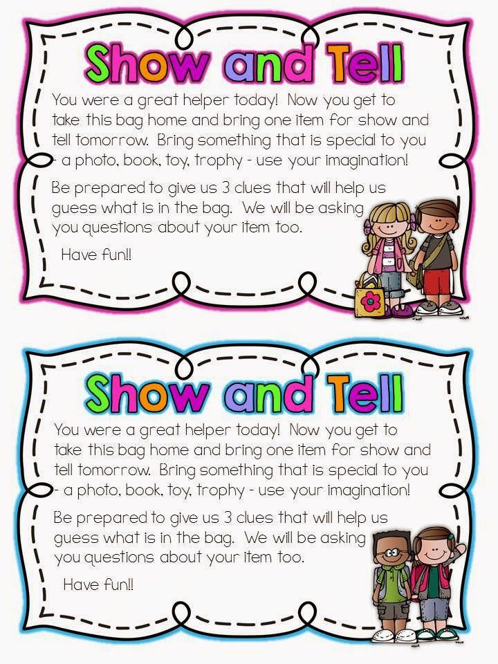 show and tell letter n teach with laughter do you show and tell education 24841