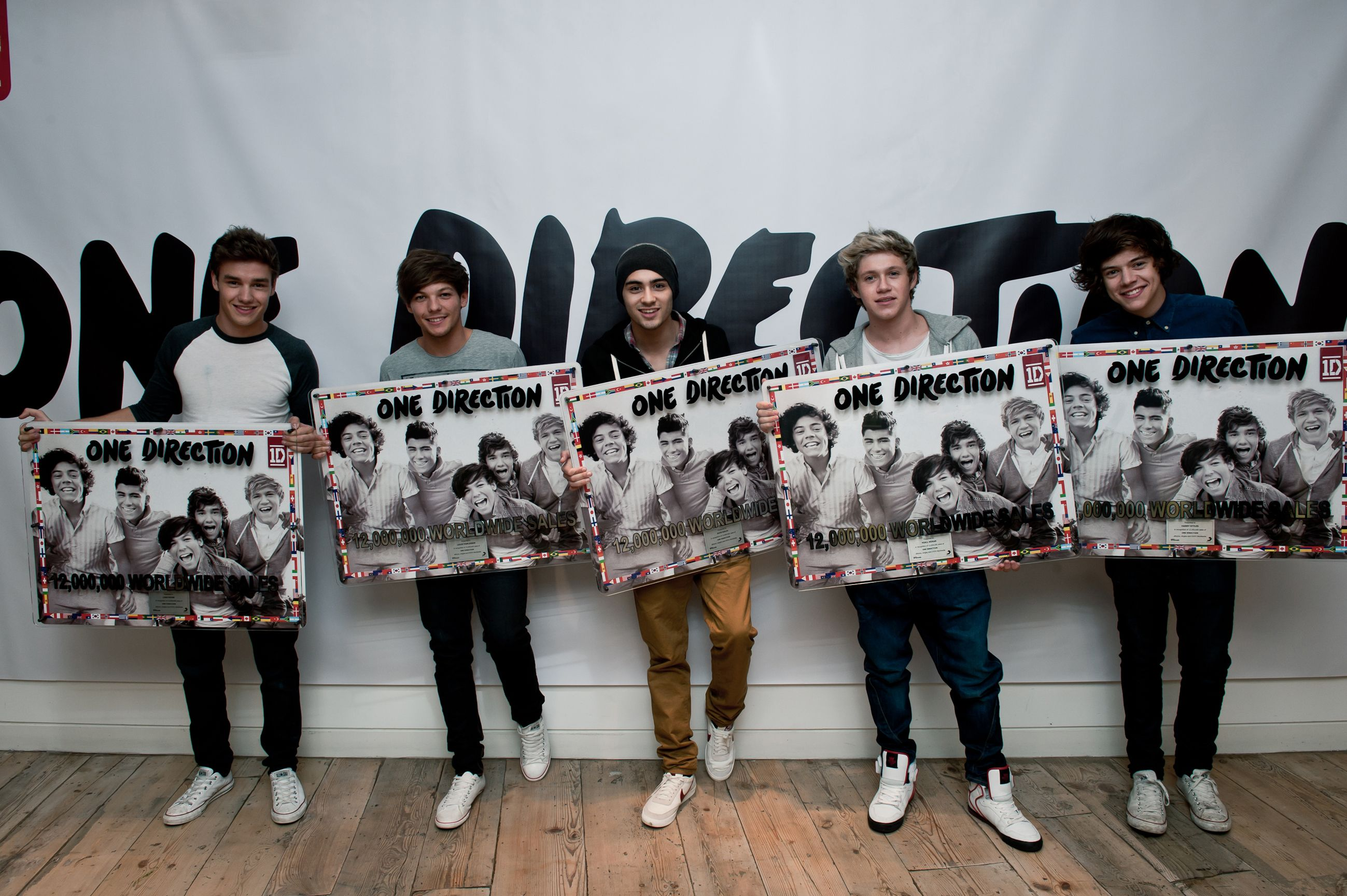 One Direction Reached a Phenomenal 12M Sales in Less Than a Year
