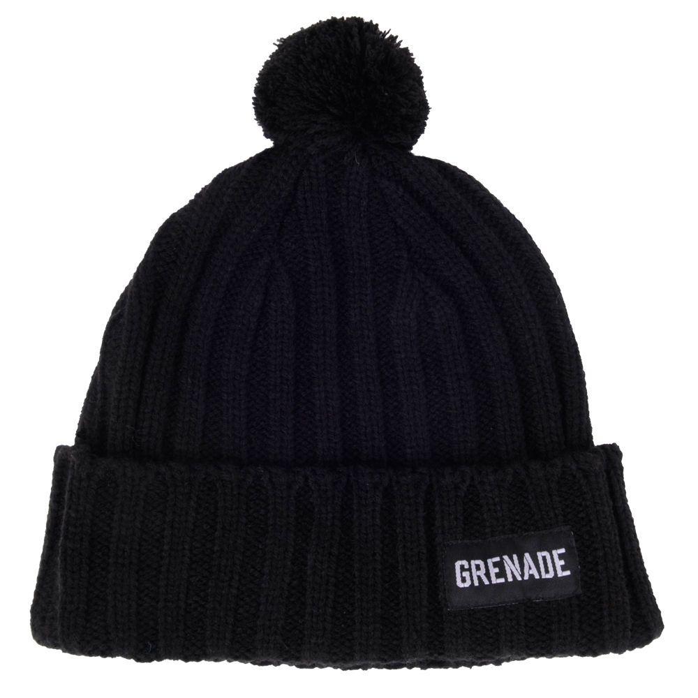 c0382efe Grenade #PomPom Beanie Folded Thick Cable Knit Hat Logo Lable One Size OSFM  #Grenade #Beanie #pombeanie