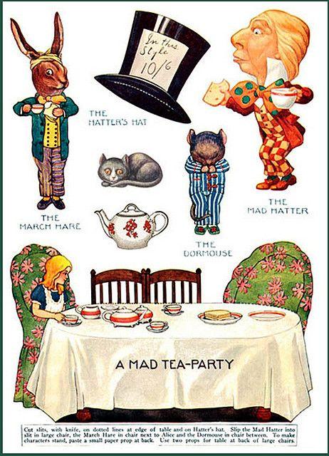 Alicia En El Pais De Las Maravillas Alice In Wonderland Tea
