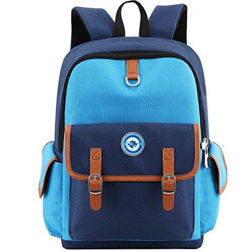 860c9ad968ece8 HITOP Elementary School Backpack Bookbags Waterproof Cute Lightweight School  Bag For Boys Girls