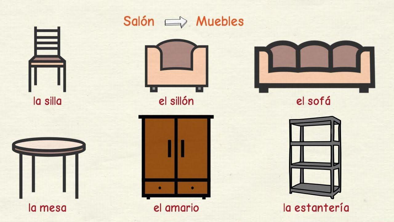 Aprender Espa Ol Muebles Y Otros Objetos De La Casa Nivel B Sico  # Muebles De Casa