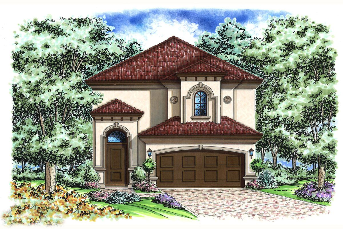 66247we 1479210144 small mediterranean homes mediterranean design house plans 2 story narrow lot