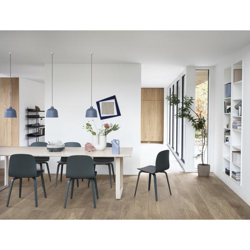 Muuto Grain Pendant Blue Grey In 2020 Living Design Interior Design Living Room Dining Room Table Centerpieces
