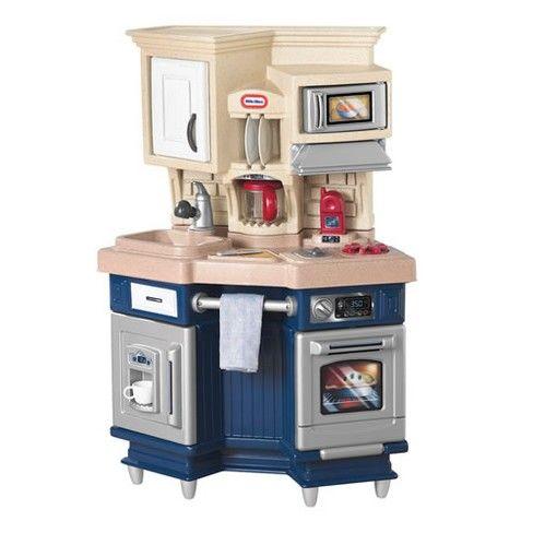 Little Tikes Super Chef Kitchen Caisen S 2nd Birthday Christmas In 2019 Pretend Play Kitchen Best Play Kitchen Kitchen Playsets