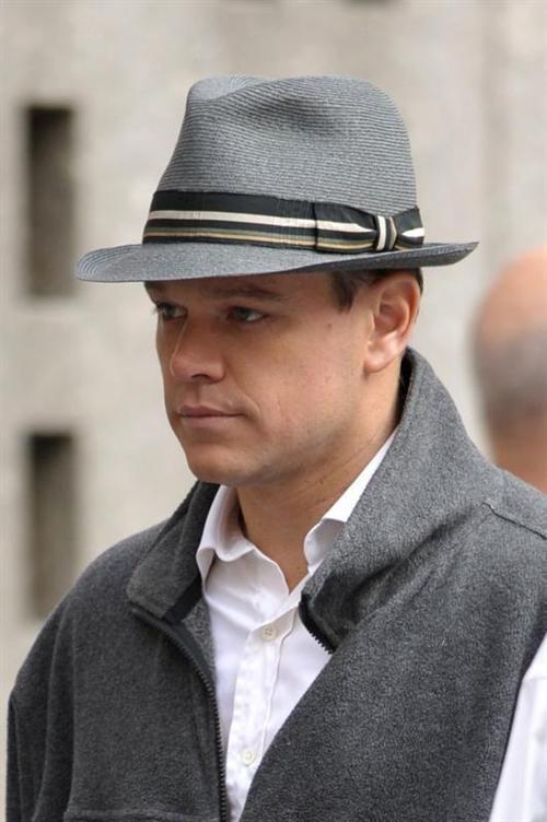 Matt Damon with Hat.  a43bac5f5f2