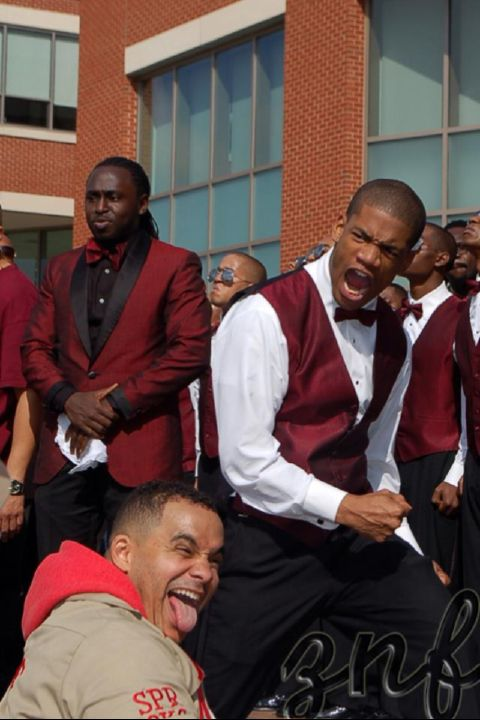 My chapter Brothers doing it EZ Style lol!!!