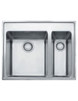 Franke Midas Mtx 660 34 16 Stainless Steel 1 5 Bowl Inset Sink