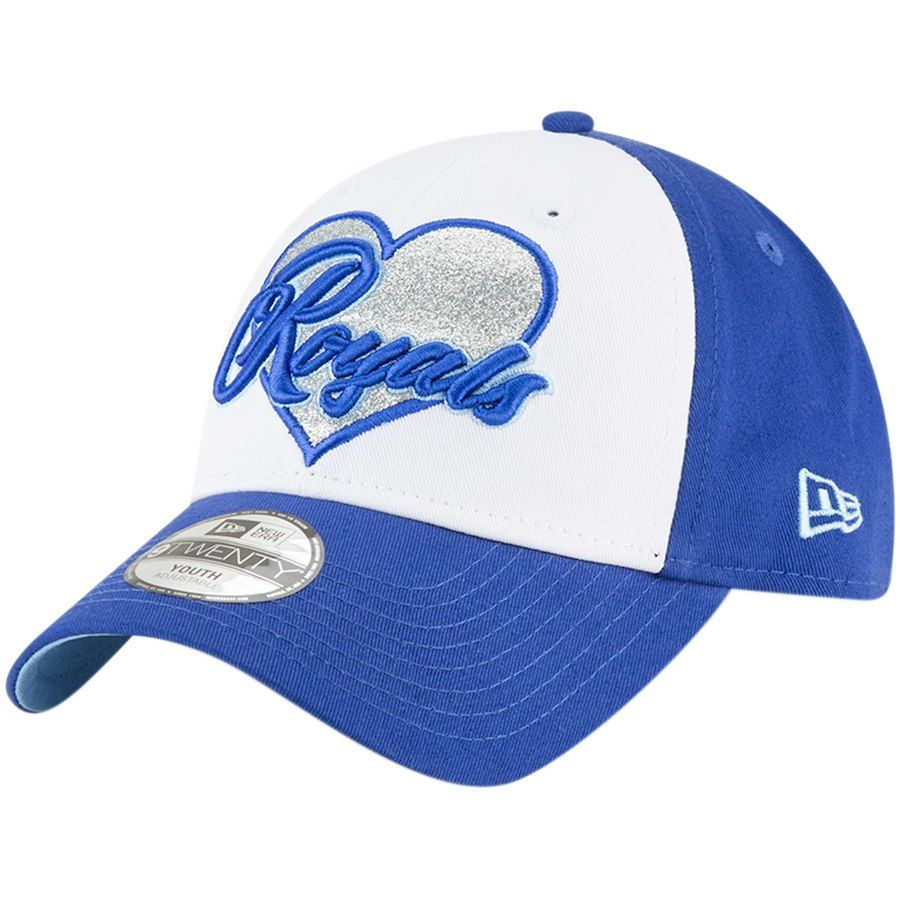 separation shoes d8cce 90ad2 Girls Youth Kansas City Royals New Era Royal Sparkly Fan 9TWENTY Adjustable  Hat, Your Price   19.99