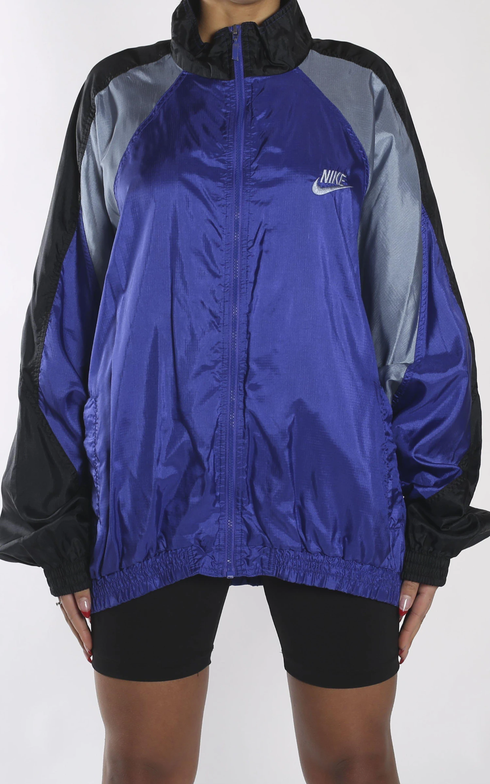 Crudo cheque capitán  Vintage Nike windbreaker jacketSourced in Canada MeasurementsSize: LPit to  Pit: 25