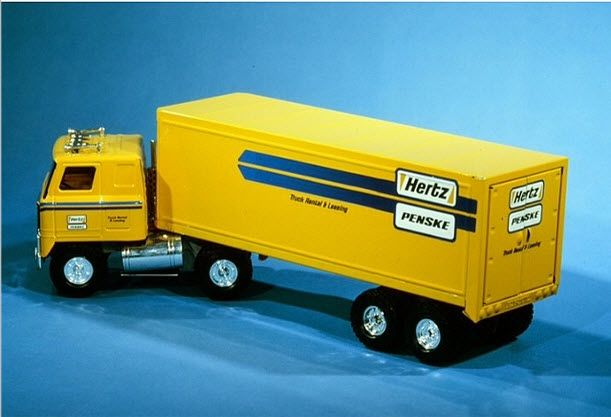 Penske Truck Rental Hertz Toy Truck Circa The 1980s Ish